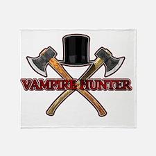 Vampire Hunter Throw Blanket