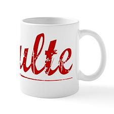 Schulte, Vintage Red Mug