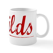 Sheilds, Vintage Red Mug