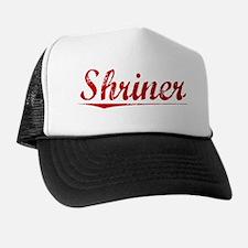 Shriner, Vintage Red Trucker Hat