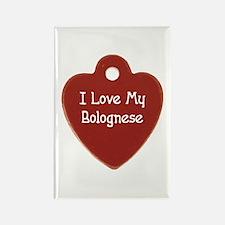 Love My Bolognese Rectangle Magnet (10 pack)