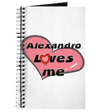 alexandro loves me Journal
