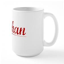 Sheehan, Vintage Red Mug