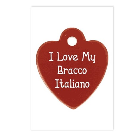 Love My Bracco Postcards (Package of 8)