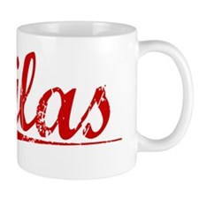 Silas, Vintage Red Small Mug