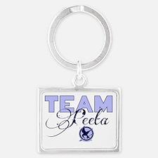 Team Peeta Landscape Keychain