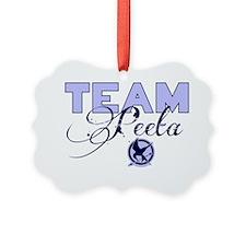 Team Peeta Picture Ornament