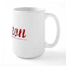 Simeon, Vintage Red Mug