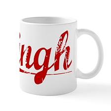Singh, Vintage Red Mug