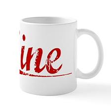 Sine, Vintage Red Mug