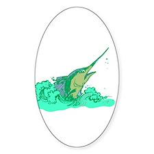 SailFish Oval Decal