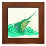 SailFish Framed Tile