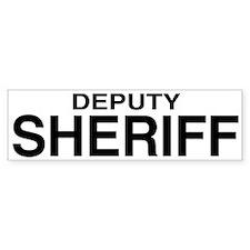 Deputy Sheriff Bumper Bumper Sticker