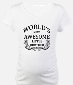 World's Most Awesome Little Brother Shirt