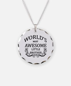 World's Most Awesome Little Brother Necklace Circl
