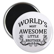 World's Most Awesome Little Brother Magnet