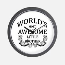 World's Most Awesome Little Brother Wall Clock