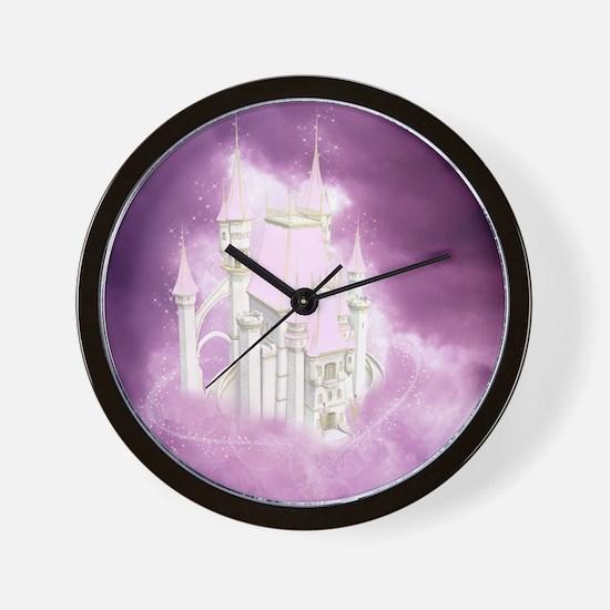 pfc_shower_curtain Wall Clock