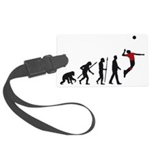 evolution volleyball player Luggage Tag