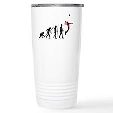 evolution volleyball pl Travel Coffee Mug