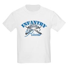 Kids Infantry Princess Kids T-Shirt