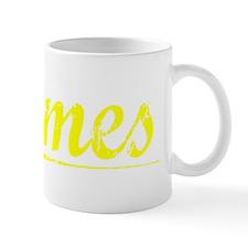 James, Yellow Mug