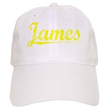 James, Yellow Baseball Cap