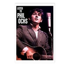 Phil Ochs Postcards (Package of 8)