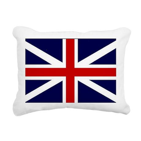 British Flag Rectangular Canvas Pillow