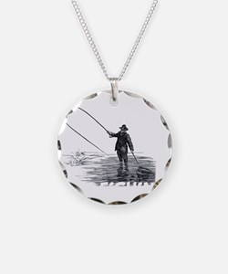 Fly Fishing Necklace