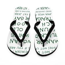 CANCER DOESNT DISCRIMINATE (FOREST) Flip Flops