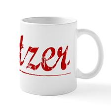 Spitzer, Vintage Red Mug