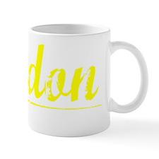 Jordon, Yellow Mug