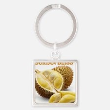 Durian Bliss Square Keychain