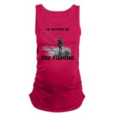 Fly Fishing Maternity Tank Top