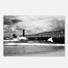 Lake Michigan Dark Postcards (Package of 8)