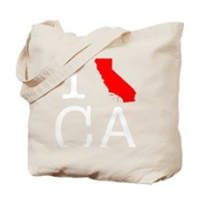 I love CA California-2 Tote Bag