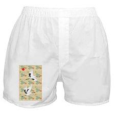Soaring Cranes Boxer Shorts