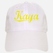 Kaya, Yellow Baseball Baseball Cap