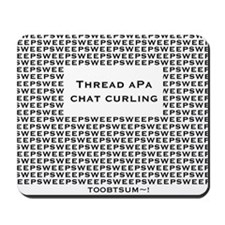 Chat Curling Mousepad