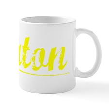 Keaton, Yellow Small Mug