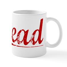 Stead, Vintage Red Mug