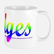 Hodges, Rainbow, Small Small Mug