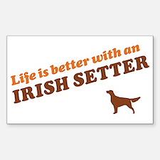 Irish Setter Decal