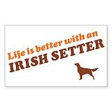 Irish stickers Single