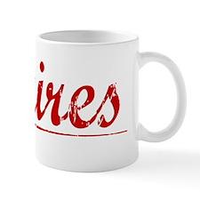 Squires, Vintage Red Mug