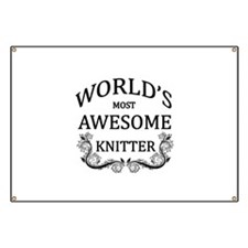 World's Most Awesome Knitter Banner