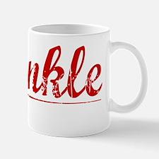 Sprinkle, Vintage Red Mug