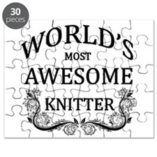 World's Most Awesome Knitter Puzzle