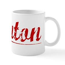 Stanton, Vintage Red Mug